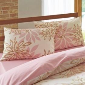 枕カバー・同色2枚組(日本製綿100%) L(63×43cm)|9581-522510
