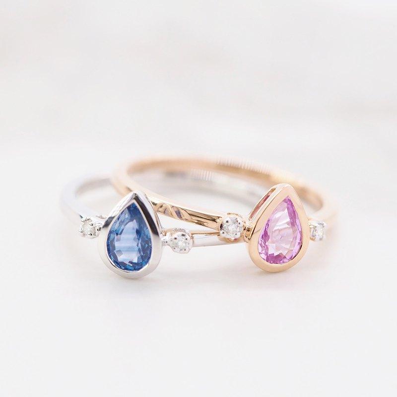 純潔高雅 Agnes | 18K金鑽石戒指 (可客製化)
