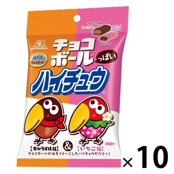 森永製菓 巧克力球口感 HI-CHEW 10入裝 P737661