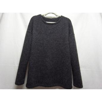 アルパカ100%の手編みセーター