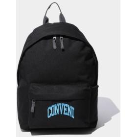 ザ・コンビニ/CONVENI COLLEGE BACKPACK/ブラック/F
