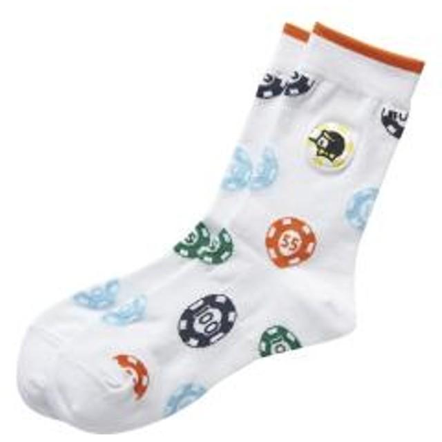 Munsingwear(マンシングウェア)タロアウトミドル丈ソックス(19FW)MGCOGB01