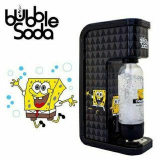 BubbleSoda 海綿寶寶聯名款全自動氣泡水機 BS-808