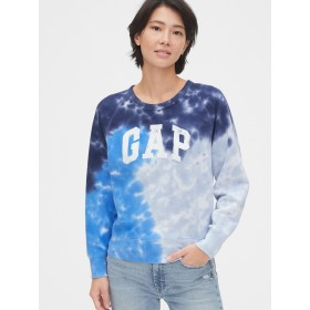 Gap ヴィンテージソフトGapロゴ タイダイウェットシャツ