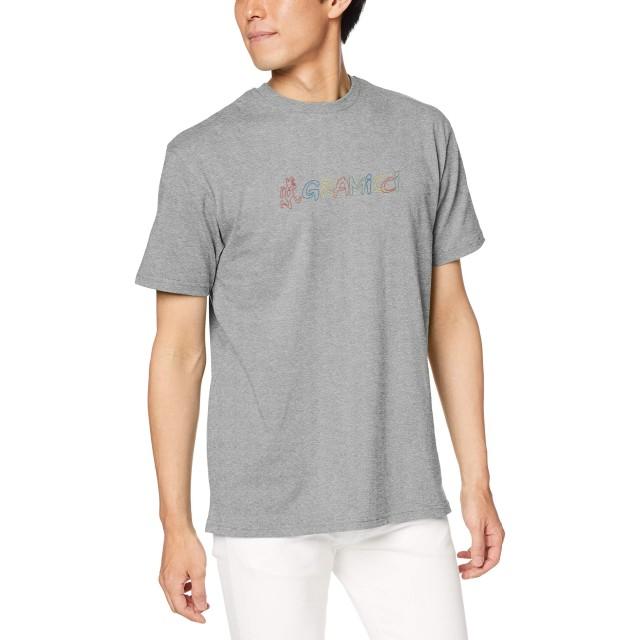 [グラミチ] Tシャツ RAINBOW LOGO TEE HEATHER GREY 日本 S (日本サイズS相当)