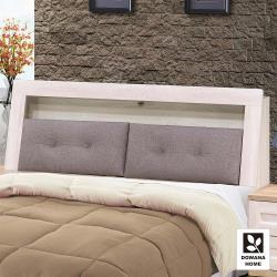 【多瓦娜】鄉村茉莉6尺床頭箱