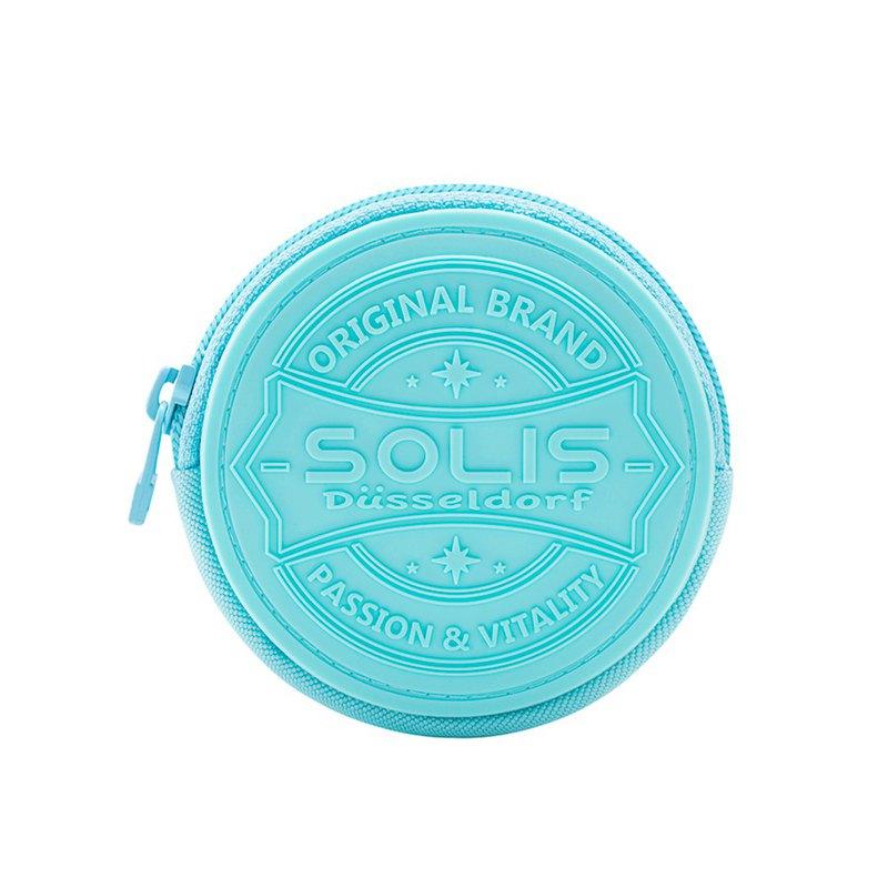 SOLIS 圓形零錢包(極光藍)