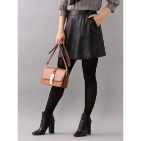 [ラブレス] LOVELESS 【LOVELESS】レザートラペーズスカート 62S41800_ 36 ブラック(09)