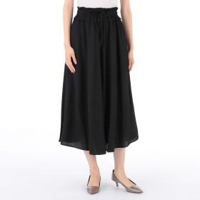 MELROSE CLAIRE(メルローズ クレール)/リネンライククロススカート