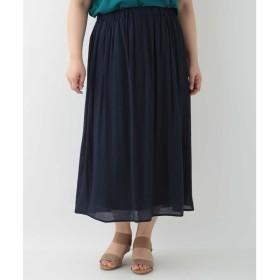 [マルイ]【セール】【大きいサイズ】ギャザースカート/エウルキューブ(eur3)