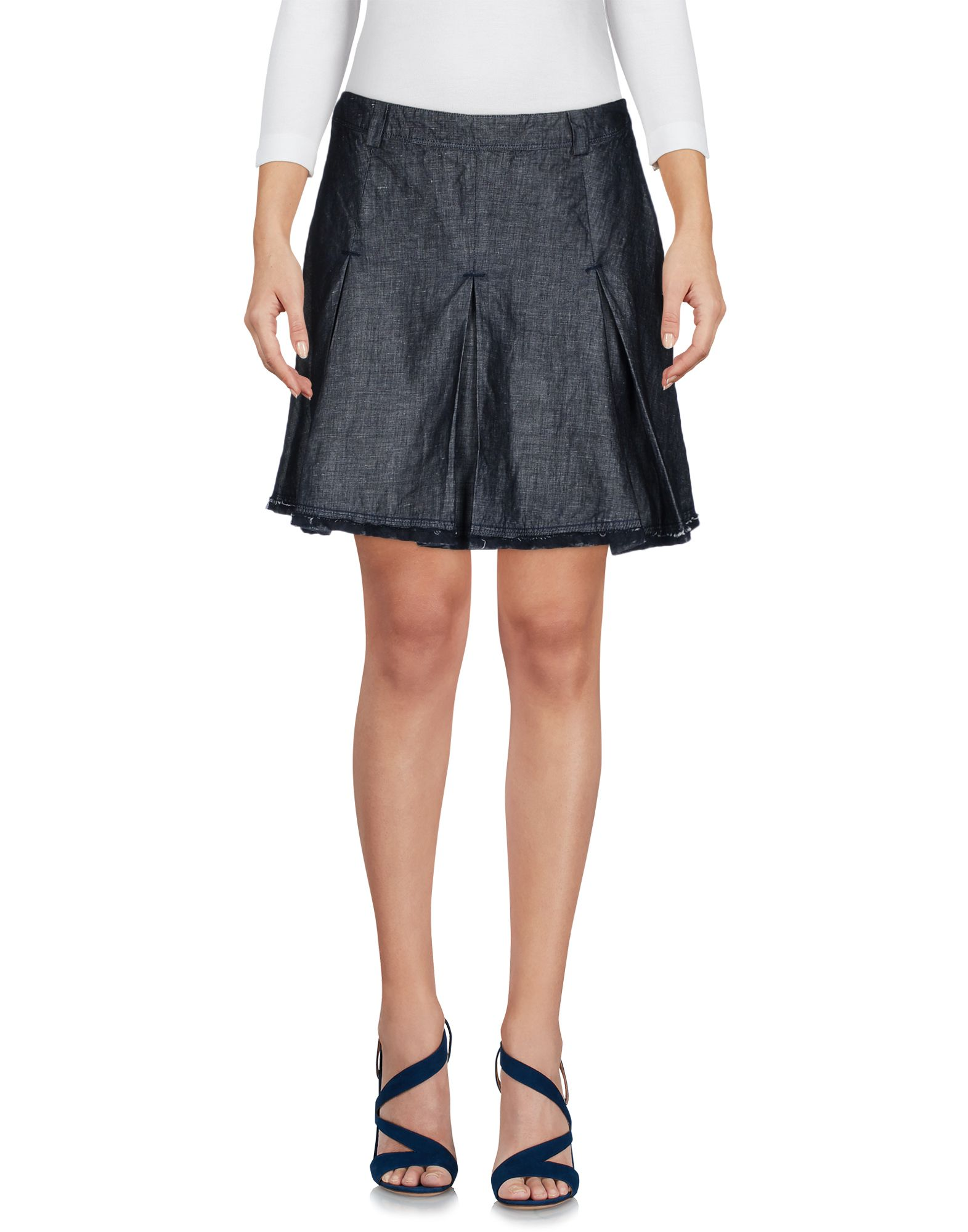 ERMANNO DI ERMANNO SCERVINO Denim skirts - Item 42607071