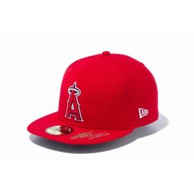 NEW ERA ニューエラ 59FIFTY 大谷翔平コレクション ロサンゼルス・エンゼルス スカーレット × チームカラー ベースボールキャップ キャップ 帽子 メンズ レディース 7 1/2 (59.6cm) 12154575 NEWERA