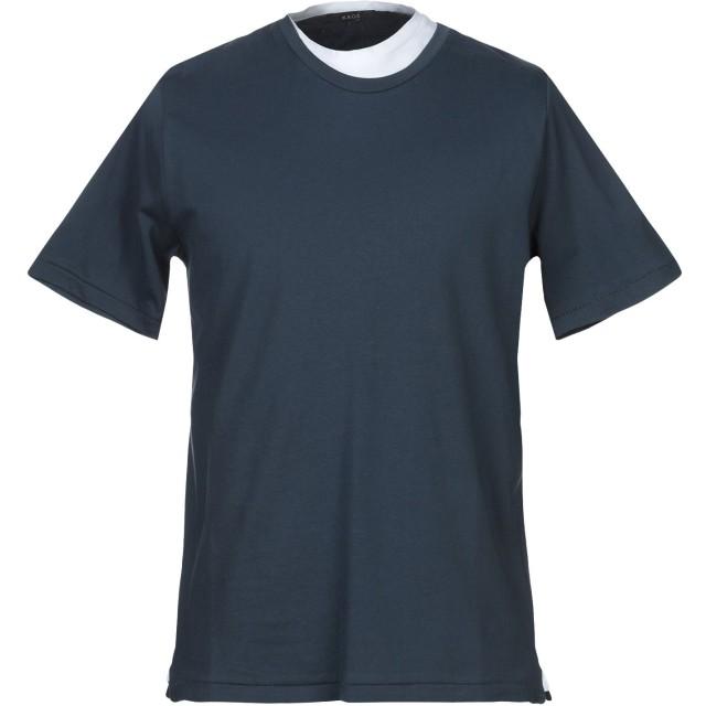 《セール開催中》KAOS メンズ T シャツ ブルーグレー M コットン 100%