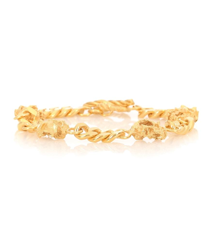 Veneda 24kt gold-plated bracelet