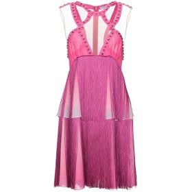 《セール開催中》BYBLOS レディース ミニワンピース&ドレス フューシャ 42 レーヨン 100%