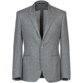 《期間限定セール開催中!》TONELLO メンズ テーラードジャケット グレー 48 麻 50% / コットン 44% / ナイロン 4% / シルク 2%