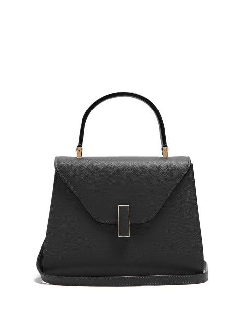 Valextra - This mini version of Valextra's signature Iside bag has all the charm and elegance of its
