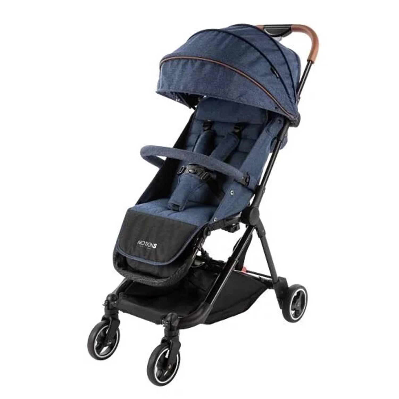 六甲村 Mammy Village - MotionS 潮。輕旅單雙人嬰兒推車-單寧藍