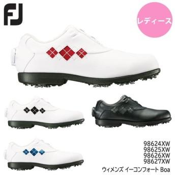【レディース】フットジョイゴルフシューズ ウィメンズ イーコンフォート Boa 98624XW 98625XW 98626XW 98627XW FOOT JOY 20P