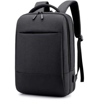 男性と女性のバックパック軽量バックパック15.6インチコンピュータバックパック大容量バッグトラベルバックパックラップトップバックパックビジネスバッグ通気性 (黒)