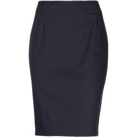 《セール開催中》CLIPS MORE レディース ひざ丈スカート ダークブルー 46 コットン 98% / ポリウレタン 2%