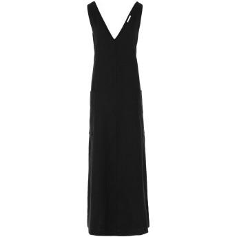 《セール開催中》OTTOD'AME レディース ロングワンピース&ドレス ブラック 40 麻 100%