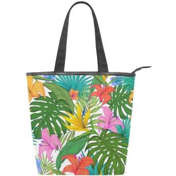 キャンバス トートバッグ 学生 ハンドバッグ 手提げ 肩掛けバッグ レディース 軽量 花柄 布 通勤 通学 おしゃれ かわいい