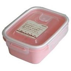 (まとめ) 保存容器/スマートフラップ&ロックス 【660ml M 1P ピンク】 電子レンジ・冷凍庫可 日本製 【×90個セット】