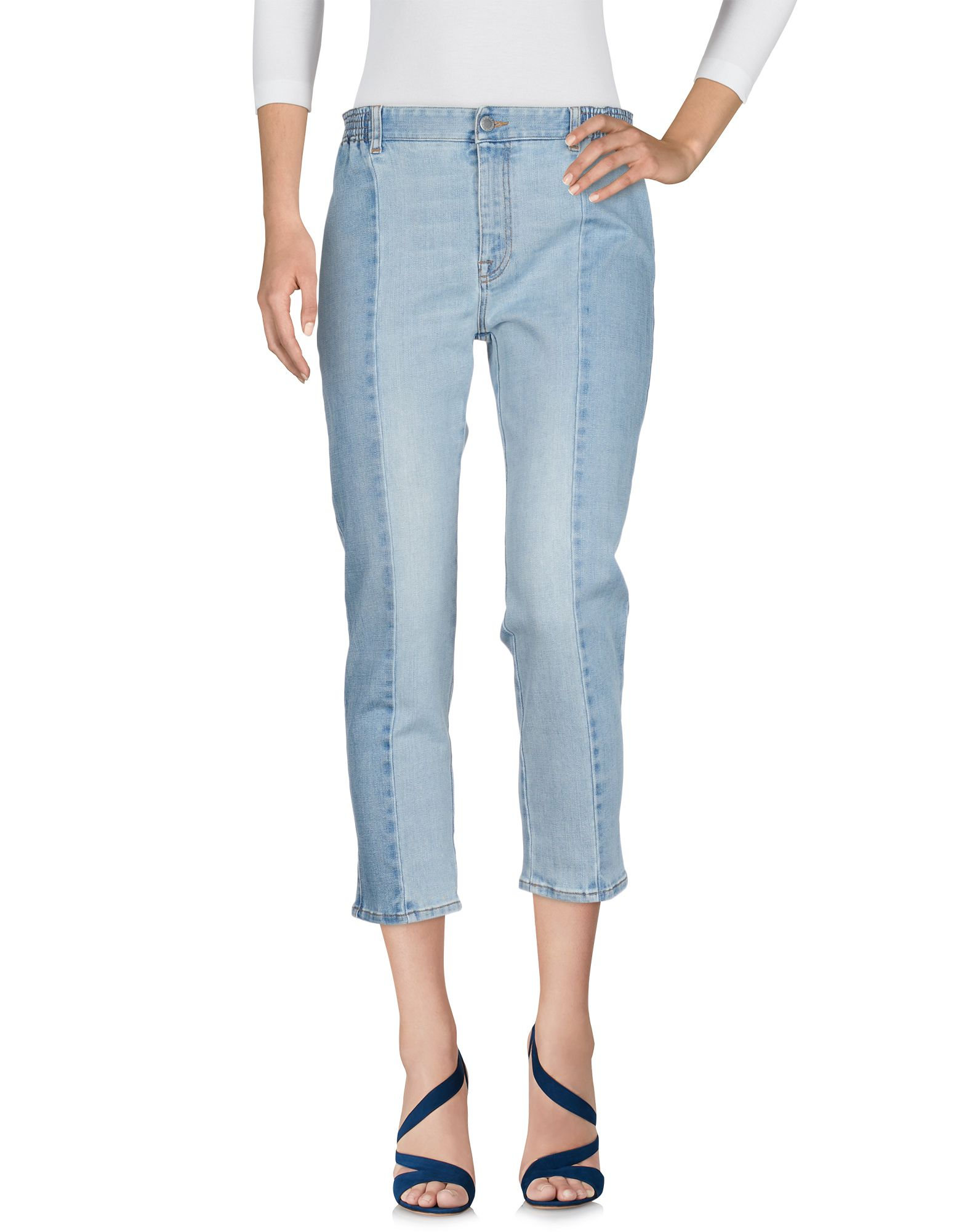 STELLA McCARTNEY Denim pants - Item 42675319