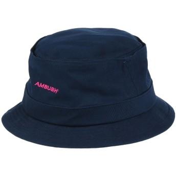《セール開催中》AMBUSH レディース 帽子 ダークブルー I コットン 100%
