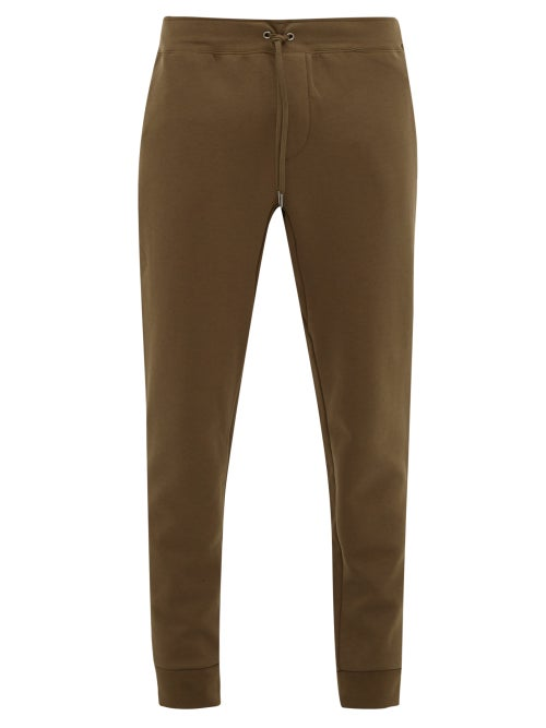 Polo Ralph Lauren - Logo-embroidered Jersey Track Pants - Mens - Khaki