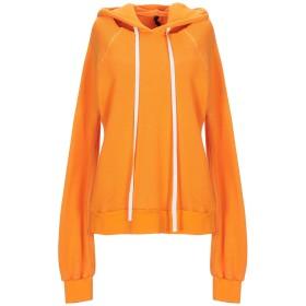 《セール開催中》BEN TAVERNITI UNRAVEL PROJECT レディース スウェットシャツ オレンジ XS コットン 93% / カシミヤ 7% / ポリウレタン