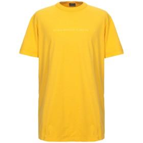 《セール開催中》NAPAPIJRI メンズ T シャツ イエロー XS コットン 100%
