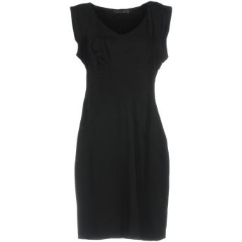 《セール開催中》TWINSET レディース ミニワンピース&ドレス ブラック L ポリエステル 100%
