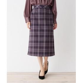 OPAQUE.CLIP(オペークドットクリップ) 【洗える】チェックポケットタイトスカート