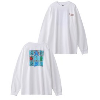 【X-girl:トップス】PARANORMAL L/S BIG TEE