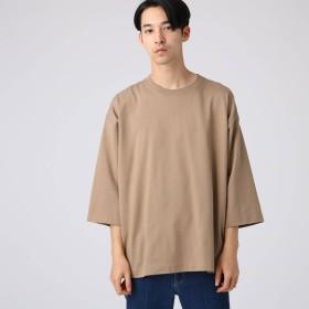 tk.TAKEO KIKUCHI(ティーケー タケオキクチ:メンズ)/天竺ビッグシルエットTシャツ(8分袖 )