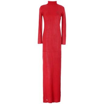 《セール開催中》PHILIPP PLEIN レディース ロングワンピース&ドレス レッド S ウール 100%