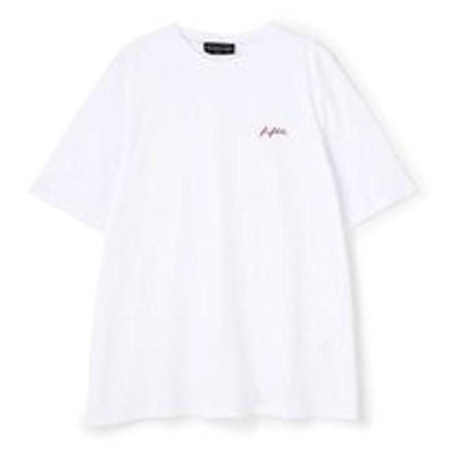 【ROSEBUD:トップス】ロゴ刺しゅうTシャツ