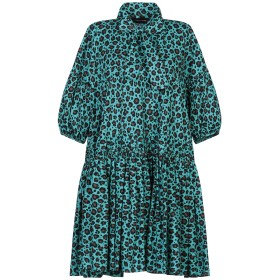 《期間限定セール開催中!》DEPARTMENT 5 レディース ミニワンピース&ドレス ライトグリーン XS コットン 97% / ポリウレタン 3% ABITO BLUE
