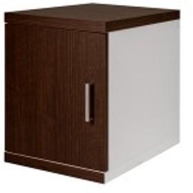 薄型サイドボックス ロータイプ BR ブラウン