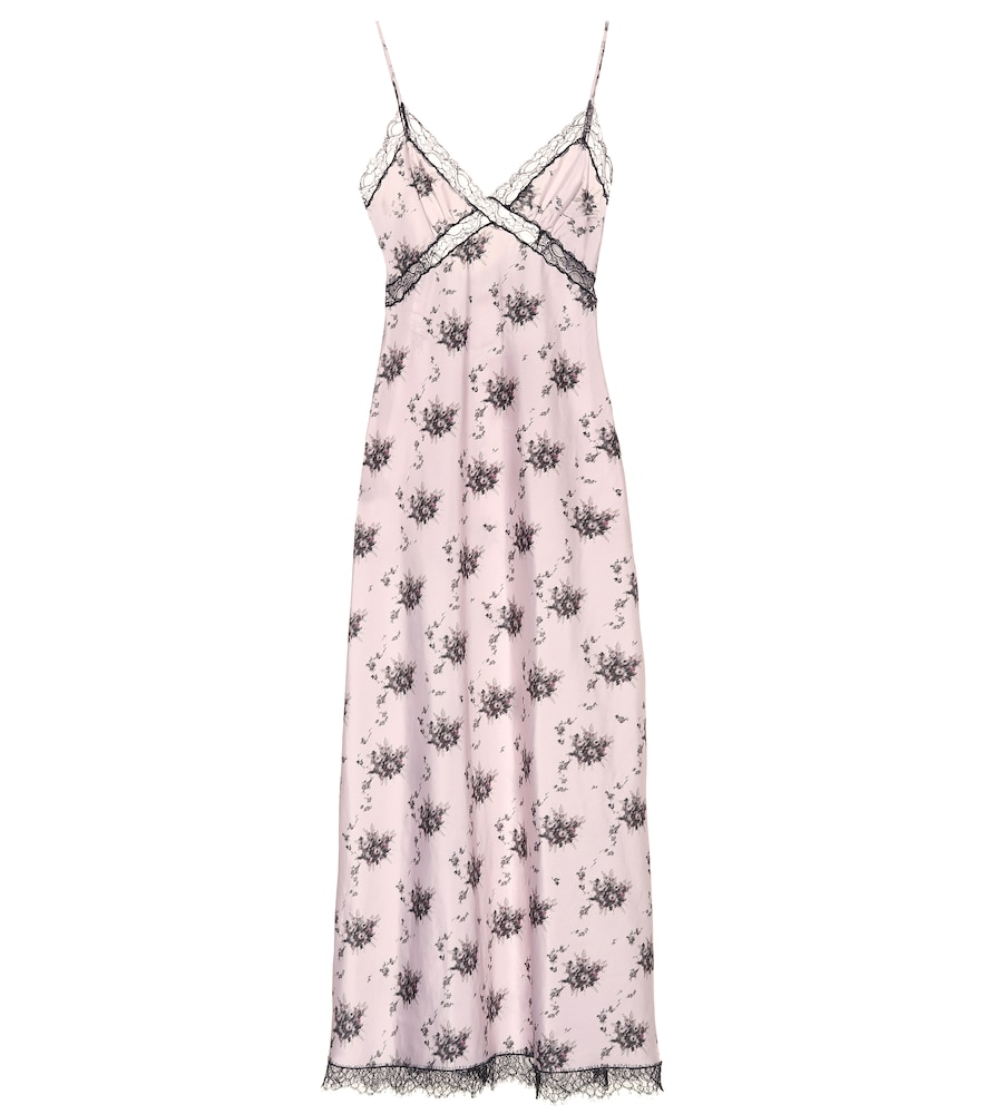 Onorina floral maxi slip dress
