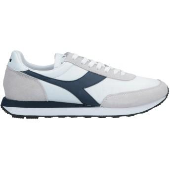 《セール開催中》DIADORA メンズ スニーカー&テニスシューズ(ローカット) ライトグレー 7 革 / 紡績繊維