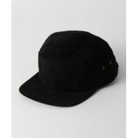 (green label relaxing/グリーンレーベルリラクシング)[ウィナーキャップス] SC★WINNER CAPS スエード5パネル キャップ/メンズ BLACK