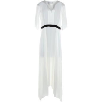 《セール開催中》AMANDA WAKELEY レディース 7分丈ワンピース・ドレス ホワイト 12 アセテート 71% / レーヨン 29%
