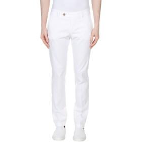 《期間限定セール開催中!》RO ROGER'S メンズ パンツ ホワイト 28 コットン 97% / ポリウレタン 3%