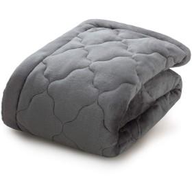 Bedsure 敷きパッド ベッドパッド シングル しきぱっと フランネル冬用ライトグレー吸湿保温柔らかく肌触りズレ防止ゴムバンド付き100x205cmマットレスパッド厚手あったかい