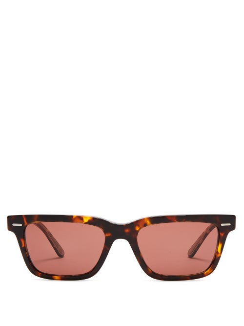 The Row - X Oliver Peoples Ba Cc Acetate Sunglasses - Womens - Tortoiseshell