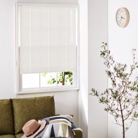 【オーダー】取り付け簡単。耐水仕様で水回り窓にもおすすめのつっぱりタイプのオーダーブラインド