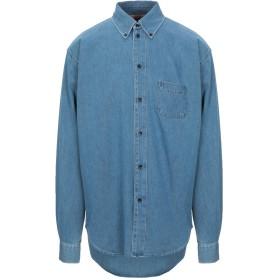 《期間限定セール開催中!》ACNE STUDIOS BL KONST メンズ デニムシャツ ブルー 50 コットン 100%